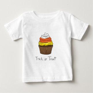 Halloween-kleiner Kuchen - Trick oder Leckerei Baby T-shirt