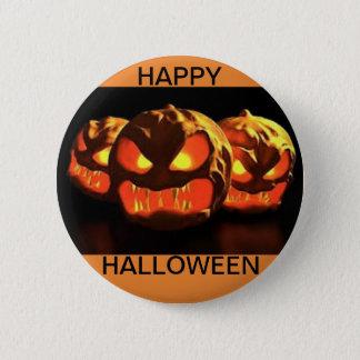 Halloween-Knopf mit drei beängstigenden Runder Button 5,7 Cm