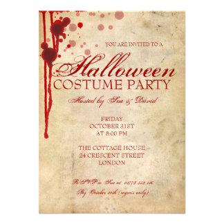 Halloween-Kostüm-Party Einladungen