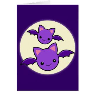 Halloween Koumori Karte