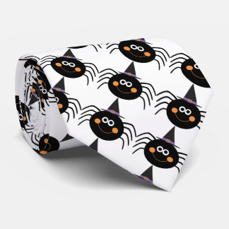 Halloween-Krawatte/niedliche Spinnen Krawatte