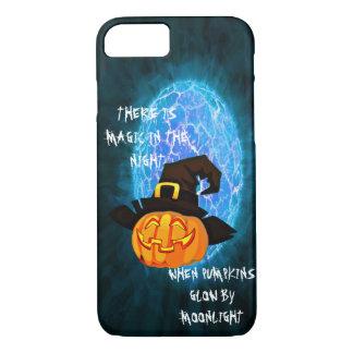 Halloween-Kürbis durch Mondschein Iphone 8/7 Fall iPhone 8/7 Hülle