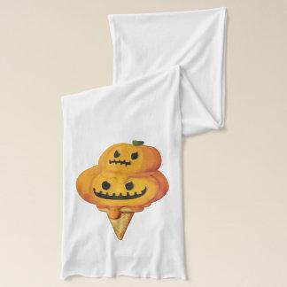 Halloween-Kürbis-Eistüte Schal
