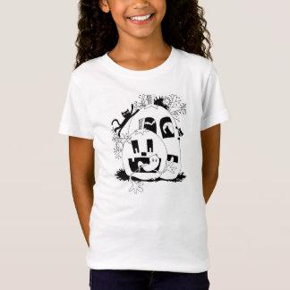 Halloween-Kürbis-Flecken T-Shirt