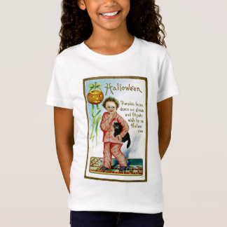 Hallowe'en Kürbis-Gesichter T-Shirt