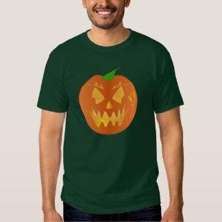 Halloween-Kürbis in Forest Green Hemden
