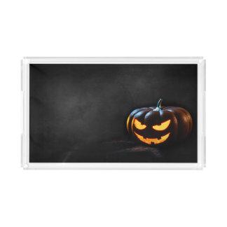 Halloween-Kürbis-Kürbislaterne gespenstisch Acryl Tablett