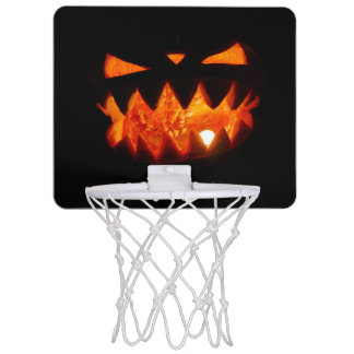 Halloween-Kürbis Mini Basketball Ring