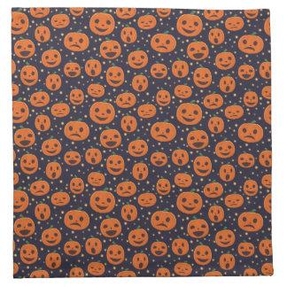 Halloween-Kürbis-Muster-Kürbislaterne festlich Serviette