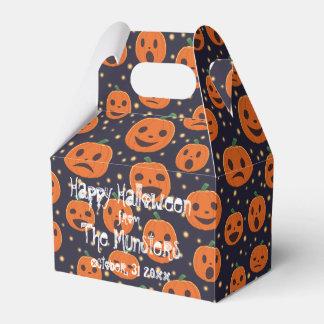 Halloween-Kürbis-Muster-Kürbislaterne-Party Geschenkschachtel