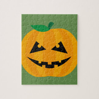 Halloween-Kürbis Puzzle