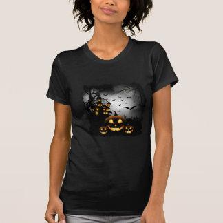 Halloween-Kürbis-Schloss T-Shirt