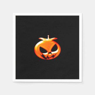 Halloween-Kürbise Papierservietten