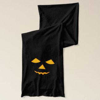 Halloween-Kürbislaterne-Kürbis-Gesicht Schal