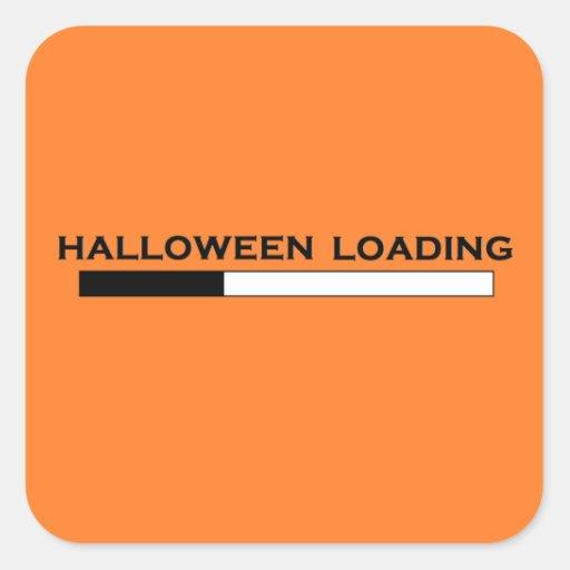 """""""Halloween-Laden-"""" Aufkleber"""