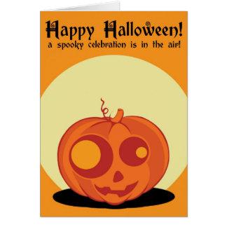Halloween laden ein karte
