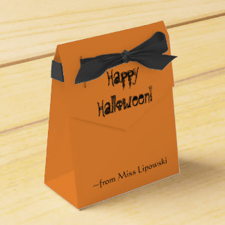 Halloween-Leckerei-Kästen (Gewohnheit) Geschenkschachtel