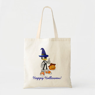 Halloween-Leckerei-Taschen mit ZaubererPenguin