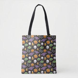 Halloween-Leckereimuster-Tasche Tasche