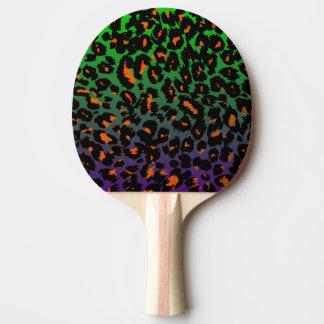 Halloween-Leopard-Druck verblassen Muster Tischtennis Schläger