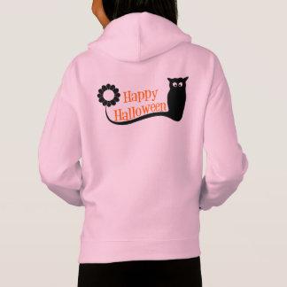 Halloween-Mädchen-Fleece-Zug über Hoodie