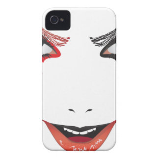Halloween-Make-up Case-Mate iPhone 4 Hülle