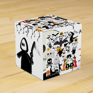 Halloween Mashup Geschenkkartons