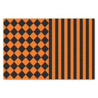Halloween-Mischungsmuster Seidenpapier