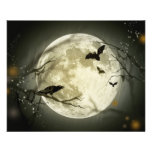 Halloween-Mond Flyer