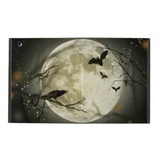 Halloween-Mond-gespenstische Krähen Hülle Fürs iPad
