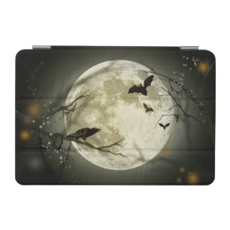 Halloween-Mond-gespenstische Krähen iPad Mini Cover