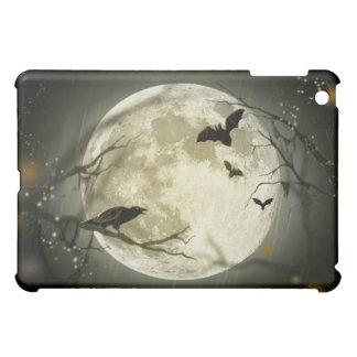 Halloween-Mond-gespenstische Krähen iPad Mini Hülle