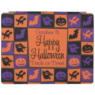 Halloween-Mosaik iPad Smart Cover
