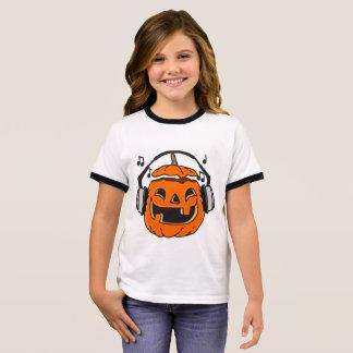 Halloween music ringer T-Shirt