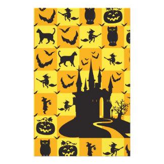 Halloween-Muster Briefpapier