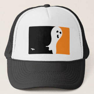 Halloween MVP-Geist-Logo Truckerkappe