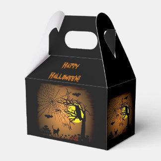 Halloween-Nacht, glückliches Halloween! Geschenkschachtel