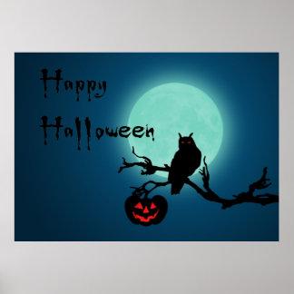 Halloween-Nacht - Plakat