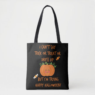 Halloween nicht mündlich tasche
