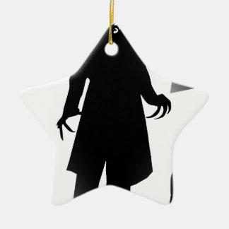 Halloween nosferatu keramik Stern-Ornament
