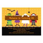 Halloween-Parade-Kostüm-Geburtstags-Party Personalisierte Einladungskarten