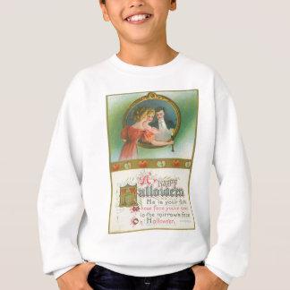 Halloween-Party-Apfel-Weissagung Vintag Sweatshirt