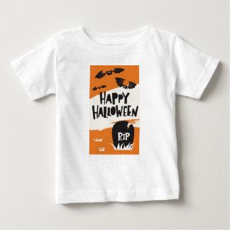 Halloween-Party-Druck - Schläger und Friedhof RIP Baby T-shirt