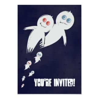 Halloween-Party-Einladung 12,7 X 17,8 Cm Einladungskarte