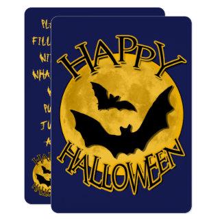 Halloween-Party-Einladungen Karte