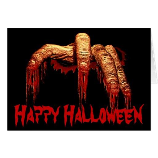 Halloween-Party-Einladungs-Zombie-Horror-Karten