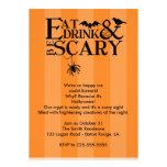 Halloween-Party Einladungskarten