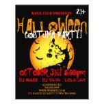 Halloween-Party-Ereignis-Mitteilung DJ SCHLAGEN 21,6 X 27,9 Cm Flyer