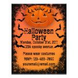 Halloween-Party-Flyer 21,6 X 27,9 Cm Flyer