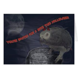 Halloween-Party laden ein Karte